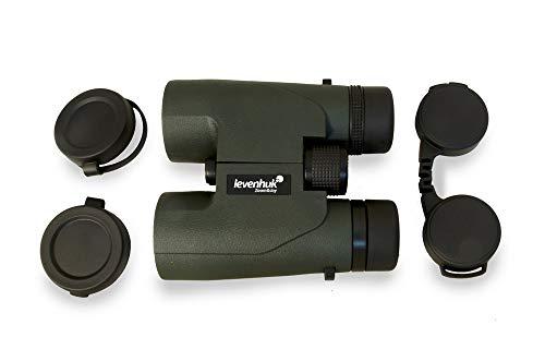 Prismáticos Compactos Levenhuk Karma Pro 16x42 con Prisma de Techo, Cuerpo Completamente Resistente al Agua y al Empañamiento