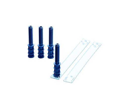 Miele UBS Sockelhöhe -1 Geschirrspülerzubehör / für Geschirrspüler zur perfekten Anpassung der Gerätehöhe an die Einbaunische, Verstellbar auf eine Nischenhöhe von 845-970 mm
