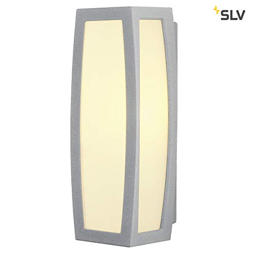 Wandlamp BOX-L wit | voor de effectieve buitenverlichting van huisingang, muren, paden, terrassen, gevels, trappen | LED wandlamp, buitenverlichting, tuinlamp