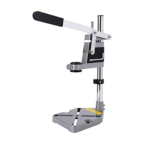 Best Deals! Bench Drill Stand, Multifunction Carbon Steel Workbench Drill Press Clamp Adjustable Wor...