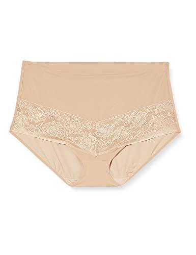 Maidenform Shapewear-Curvy Firm Foundation Braguitas Moldeadoras, Beige (Body Beige TF), 46 (Talla del Fabricante: XX-Large) para Mujer