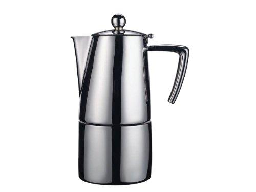 Ilsa 0091 S10 Slancio Espressokocher edelstahl matt für 10 Tassen