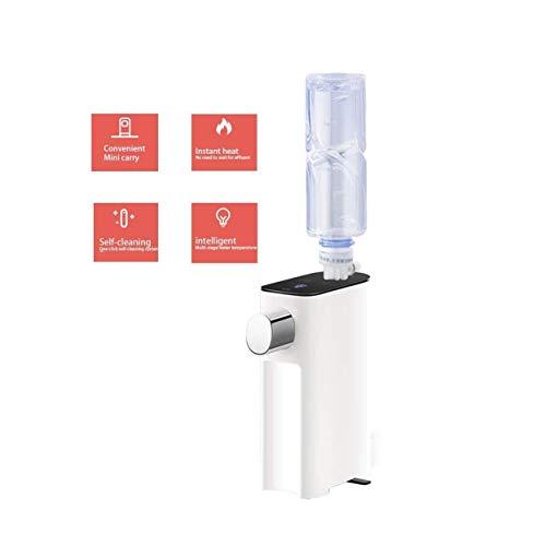 Tragbare Mini-Fast-Hot Desktop-Instant-Hot Reisebüro-Wasser-Heizung Temperatur (Farbe: weiß, Größe: 5,9 * 11 * 18.5CM) ZHNGHENG