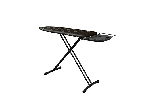 Ironing Board Comfortboard Glasses, 38cm x 120cm, 100% Cotton, Adapts to Most Steam Generators, Adjustable Height, Iron Rest, Secure Closure System, Easily Stored