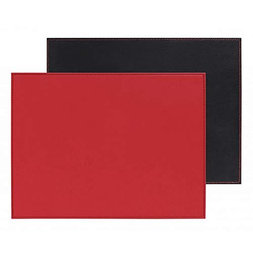 Freeform - Tischset 2er-Set - 40 x 30 cm - Rot & Schwarz FFPM1179