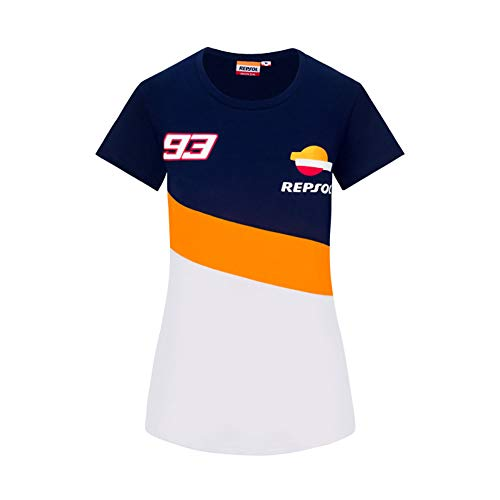 GP Racing T-Shirt MM93 Marc Marquez Dual Women Official Racing Apparel, M