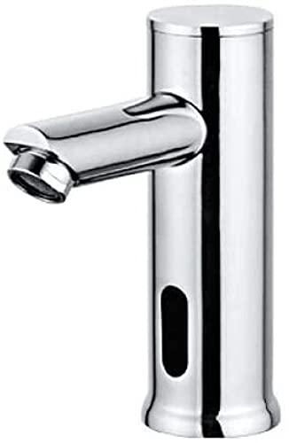 Grifo de lavabo Grifo de lavabo de baño Grifo de sensor infrarrojo automático Mano libre sin contacto Sensor de fregadero montado en cubierta Grifo Grifo de agua fría y caliente