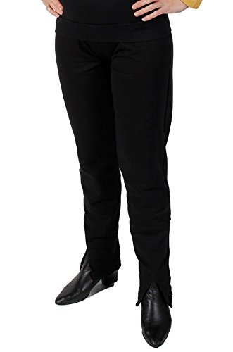 Star Trek Next Generation Uniform - Hose super deluxe Baumwolle (Medium, schwarz)
