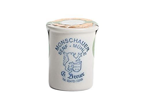 Kräutersenf - Monschauer Senf - Moutarde de Montjoie - 200 ml im Steintopf