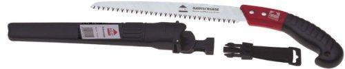 KEIL 100 105 424 Japanische Haifischsäge - Schwertsäge 240 mm - 7 Zähne/Zoll, mit Köcher und Gürtelschlaufe