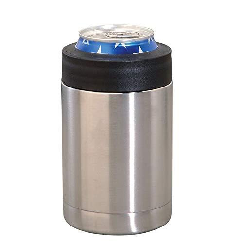 WEISY Bierdosen-Kühler-Hülsenhalter, Bierkühlbehälter aus Edelstahl