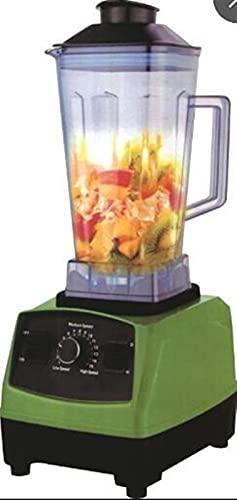 JIEYUEBAI 2L 3200W Derato de Uso Profesional Producto Comercial Mezclador de licuadora Juicer de Alta Potencia Procesador de Alimentos Smoothie Ice Bar Barbends Blender (Color : A, Plug Type : 1)