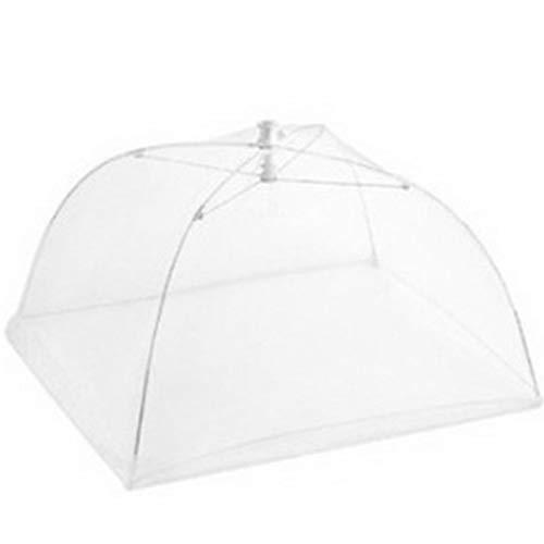 Ba30DEllylelly Paraguas plegable de alimentos para el hogar Malla lavable Tapa de...