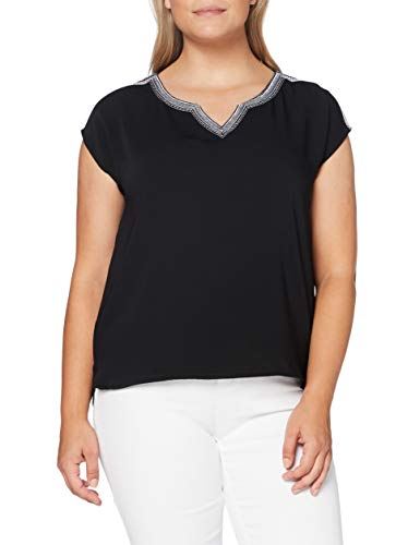 comma Damen 8T.005.32.7041 Kurzarm T-Shirt, 9999, 38