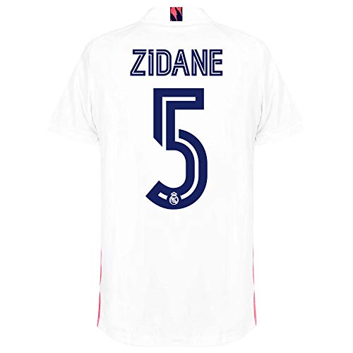 Zidane #5 Real Madrid Home Jersey 20-21 (L) White