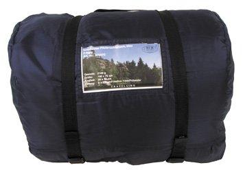 Israel. pilotenschlafsack, bleu, 2 couches