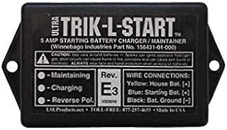AM Solar CHGR-TRIK Ultra Trik-L-Start 5 Amp Starting Battery Charger/Maintainer, Black