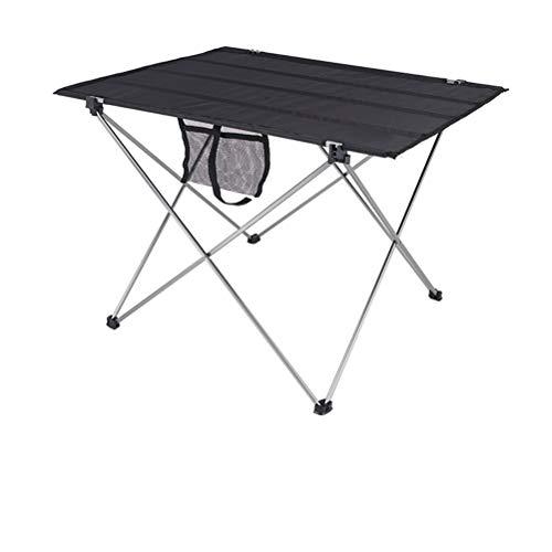 GWYGW Plegable Mesa de jardín Barbacoa Herramienta de aleación de Aluminio de Camping al Aire Libre de Viaje Carry Mesa Plegable Partido Barbacoa