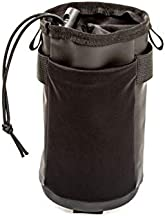 WOTOW Bike Handlebar Bottle Bag, Bicycle Insulated Stem Drink Cup Holder Water Bottle Bag Cycling Frame Strap-On Waterproof Storage Pouch with Shoulder Strap for Daily Use Touring Commuting