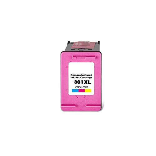 GYBN Hoge capaciteit navulbare kleur inkt cartridge set, voor HP 301 zwarte kleur inktcartridge, voor hp 1000 1050 2000, voor hp 2050 printer cartridge, size, Kleur