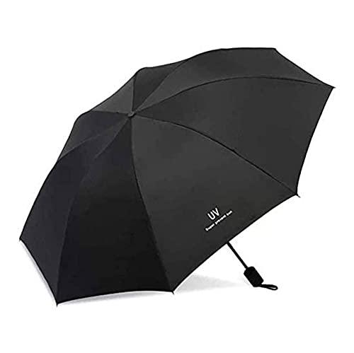 Paraguas Plegable, protección UV y Paraguas compactos probados a Prueba de Viento y a Prueba de Viento - fácil de Llevar