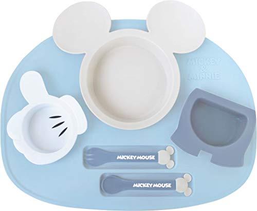 錦化成『ミッキーマウスアイコンランチプレート(4904121306927)』