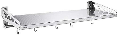 Multifunción Resistente al agua Microondas horno de carro condimento rack de almacenamiento en rack de acero inoxidable 304 Estante de la cocina de pared del horno microondas estante LINGZHIGAN