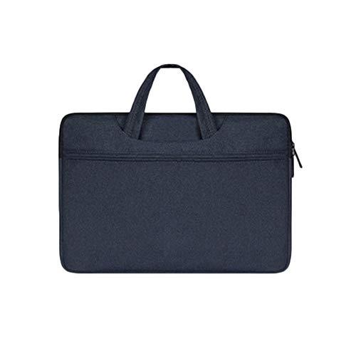 Tragbar Reißverschluss Computer Tasche Für MacBook Notizbuch Ärmeltasche Wasserdicht Und Staubdicht Geschäftsreise Marine 13.3