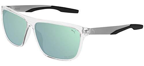 Gafas de Sol Puma PU0221S CRYSTAL/GREEN 60/12/140 hombre