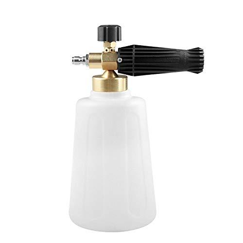 Auto auto wassen 2L fles Sneeuw Foam Lance met 1/4 Quick Connector for hogedrukpistool clearn Accessoires