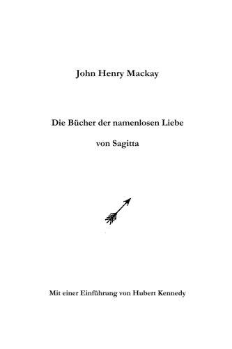 Die Bucher Der Namenlosen Liebe Von Sagitta