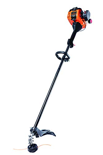 Remington RM25S 25cc 2-Cycle 16-Inch Straight Shaft Gas Powered String Trimmer/Brushcutter-Lighweight Weed Wacker for Lawn Care, Orange