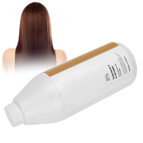 Mascarilla para el cabello Acondicionador profundo, 8% de proteína que estimula el cabello para la reparación del cabello dañado y seco tratamiento acondicionador cabello tratado con color