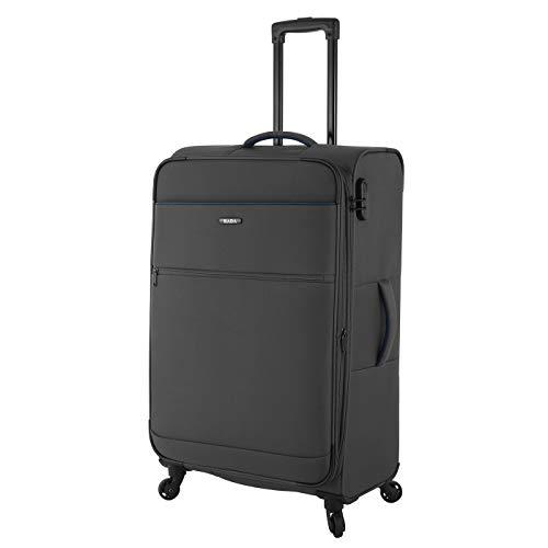 Rada Koffer Gepäck Cloud 4W Reise Trolley sehr leicht mit 4 Rollen Reisekoffer mit Zahlenschloss Verschiedene Größen, Set (anthrazit grau, XL - großer...