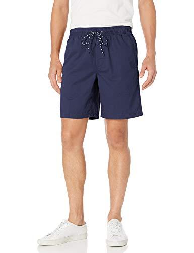 Amazon Essentials Men s 8  Inseam Drawstring Walk Short, Navy, Medium
