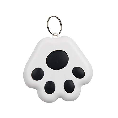 YUYOU Pet Smart GPS Tracker Mini Anti-Lost Waterproof Bluetooth Locator Tracer for Pet Dog Cat Kids Car Wallet Key Collar Accessories (Black)