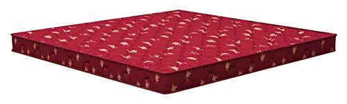 Sleepwell Puf - Durafirm Mattress - (72 x 36 x 4.5 Inches, Maroon)