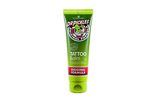 Dr Pickles Premium Tattoo Balm - During and Tattoo Aftercare Lotion - Skin healing,...
