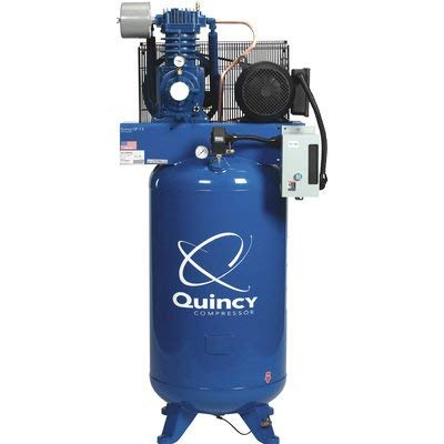 Quincy QP-7.5 Pressure Lubricated Reciprocating Compressor