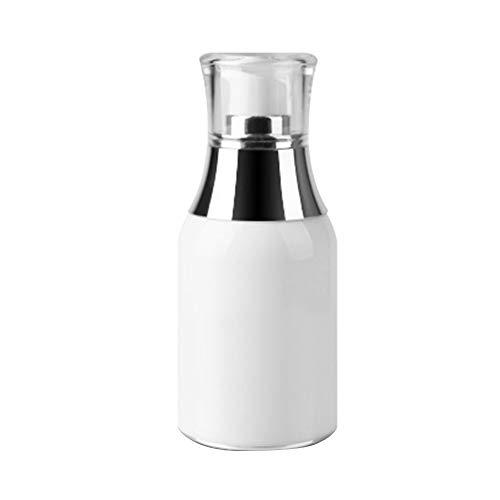 Demarkt Deamrkt 1 Stück 50ml leer Einweg-tragbare Mini Airless Vakuum-Pump-Flasche Gläser Bajonett Creme Lotion Spender Kosmetik Make-up Emulsion Aufbewahrungsbehälter Behälter Reisezubehör