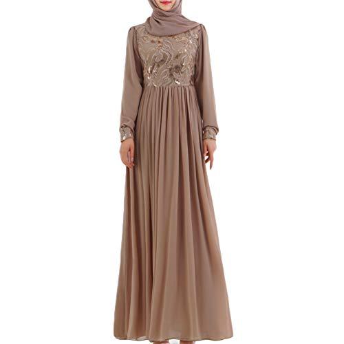 YuanDian Abendkleider Für Muslimische Frauen Ramadan Kleidung Islamische Abaya Mode Robes Elegant...