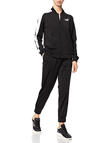 Puma 4063699327557 Baseball Tricot Suit cl Tuta Sportiva, Puma Black, M