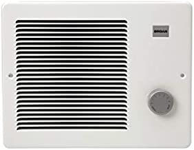 Broan-NuTone 174, White Painted Grille Wall Heater, 750/1500 Watt 120 VAC