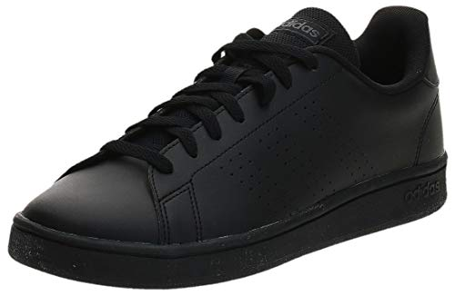 adidas Advantage Base, Scarpe da Tennis Uomo, Core Black/Core Black/Grey Six, 41 1/3 EU
