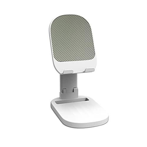 Sonoaud Support de téléphone pliable universel pour tablette et téléphone - Compatible avec regarder la télévision - Blanc