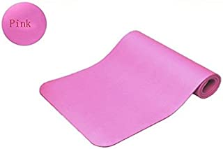 10MM Yoga Mat Exercise Thick Non-Slip Gym Fitness Durable Pilates Meditation Pad Pink