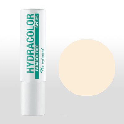 HYDRACOLOR Lippenstift 21, Farblos Nude, perfekt pflegender Lippenstift mit hohem Lichtschutzfaktor, frei von Parabenen und Glycerin