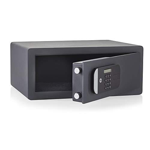 Gemotoriseerde kluis, maximale veiligheid met vingerafdrukken voor laptop.