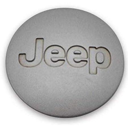 "Jeep Aluminum Wheel Center Cap 2001-2008 Liberty Wrangler 2.25/"" OEM Rough 2 1//4/"""