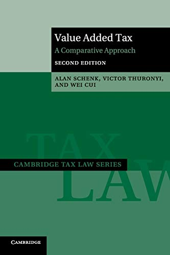 Value Added Tax: A Comparative Approach (Cambridge Tax Law Series) download ebooks PDF Books